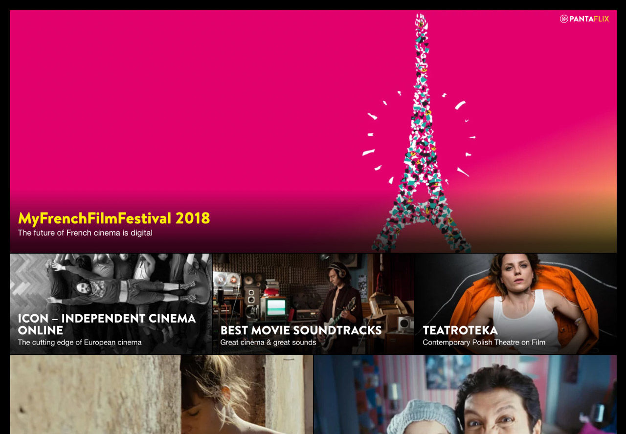 PANTAFLIX: cooperation with global MyFrenchFilmFestival